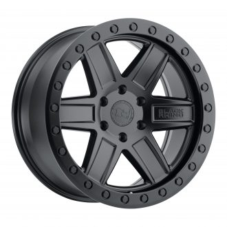 BLACK RHINO ATTICA 20×9.5 6/139.7 ET12 CB112.1 MATTE BLACK W/BLACK BOLTS