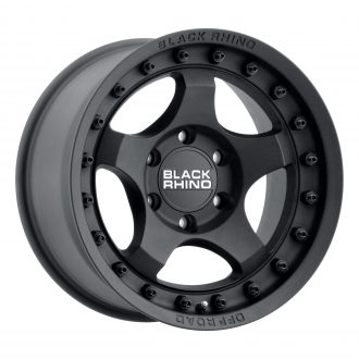 BLACK RHINO BANTAM 18×9.0 6/139.7 ET12 CB112.1 TEXTURED BLACK