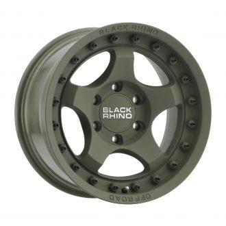 BLACK RHINO BANTAM 18×9.0 6/139.7 ET12 CB112.1 OLIVE DRAB GREEN