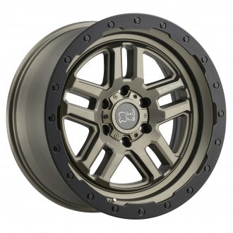 BLACK RHINO BARSTOW 20×9.5 5/150 ET12 CB110.1 MATTE BRONZE W/MATTE BLACK RING