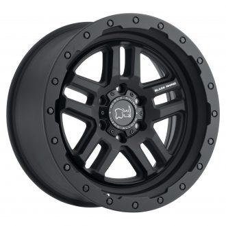 BLACK RHINO BARSTOW 20×9.5 6/139.7 ET12 CB112.1 TEXTURED MATTE BLACK