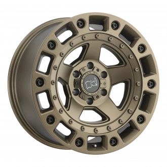 BLACK RHINO CINCO 20×9.5 6/139.7 ET12 CB112.1 BRONZE W/BLACK BOLTS