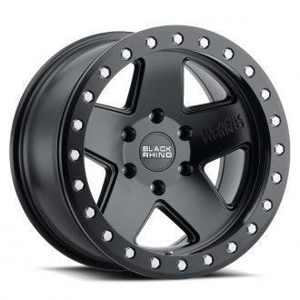 BLACK RHINO CRAWLER BEADLOCK 17×8.5 6/139.7 ET00 CB112.1 MATTE BLACK