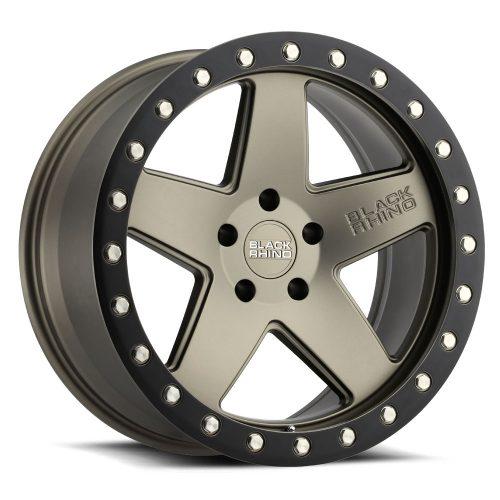 BLACK RHINO CRAWLER 20×9.5 5/150 ET12 CB110.1 MATTE BRONZE W/MATTE BLACK RING