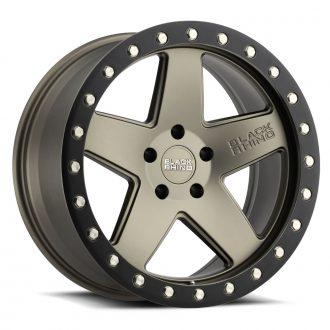 BLACK RHINO CRAWLER 20×9.5 6/139.7 ET12 CB112.1 MATTE BRONZE W/MATTE BLACK RING