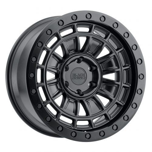 BLACK RHINO DALTON 20X9.5 5/150 ET12 CB110.1 MATTE BLACK