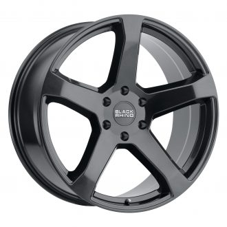 BLACK RHINO FARO 24×10.0 6/139.7 ET25 CB 112.1 METALLIC BLACK