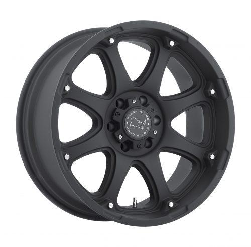 BLACK RHINO GLAMIS 22×14.0 6/139.7 ET-74 CB112.1 MATTE BLACK