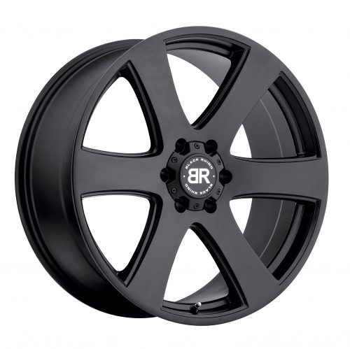 BLACK RHINO HAKA 22×9.5 6/139.7 ET25 CB112.1 MATTE BLACK