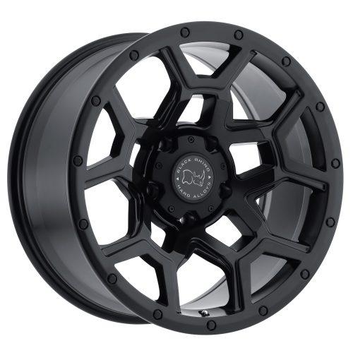 BLACK RHINO OVERLAND 20×9.5 6/139.7 ET06 CB112.1 MATTE BLACK