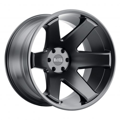 BLACK RHINO RAZE 24×14 6/139.7 ET-76 CB112.1 MATTE BLACK