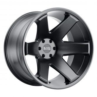 BLACK RHINO RAZE 24×14 8/180 ET-76 CB125.1 MATTE BLACK