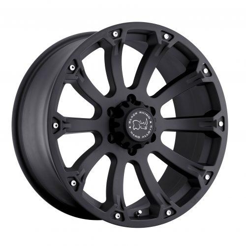 BLACK RHINO SIDEWINDER 20×9.0 6/139.7 ET12 CB112.1 MATTE BLACK
