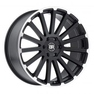 BLACK RHINO SPEAR 24×10.0 5/150 ET30 CB110.1 MATTE BLACK W/MATTE MACHINE LIP EDGE