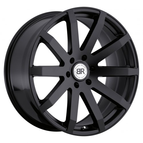 BLACK RHINO TRAVERSE 24×10.0 6/139.7 ET25 CB112.1 MATTE BLACK