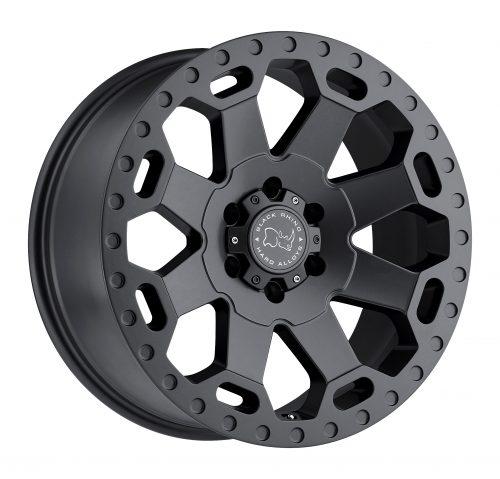BLACK RHINO WARLORD 22×10.0 8/180 ET12 CB125.1 MATTE GUNMETAL