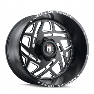 AMERICAN TRUXX AT1904-241483M AMERICAN TRUXX COSMOS AT1904 BLACK/MILLED 24X14 6-139.7 -76MM 106.1MM WHEELS