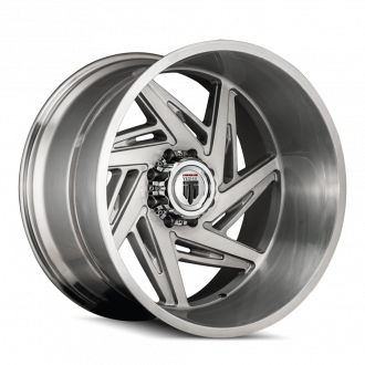 AMERICAN TRUXX AT1906-241427BT AMERICAN TRUXX SPIRAL AT1906 BRUSHED TEXTURE 24X14 5-139.7 -76MM 87.1MM WHEELS