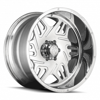 AMERICAN TRUXX FORGED ATF1908-241483P ORION AMERICAN TRUXX FORGED ORION ATF1908 POLISHED 24X14 6-139.7 -76MM 106.1MM WHEELS