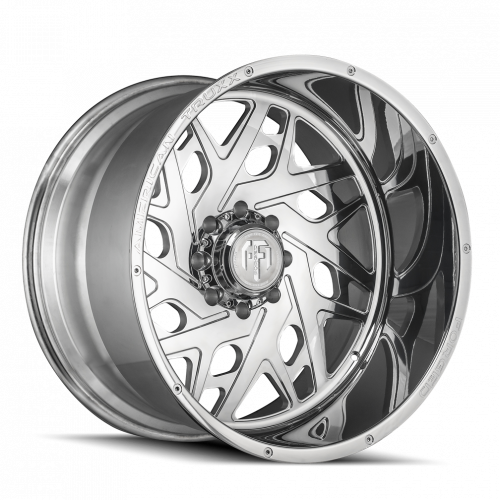 AMERICAN TRUXX FORGED ATF1909-241483P ARIES AMERICAN TRUXX FORGED ARIES ATF1909 POLISHED 24X14 6-139.7 -76MM 106.1MM WHEELS